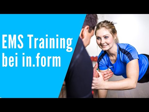 EMS Training bei in.form